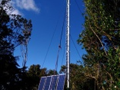 New radio mast to be installed on Maungatautari summit