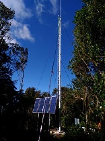 New radio mast to be installed on Maungatautari summit