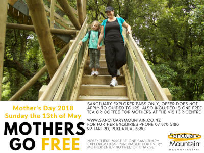 Mother's Go Free Mother's Day Special