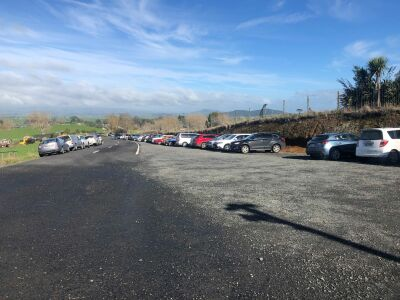 Carpark build starts at Sanctuary Mountain Maungatautari