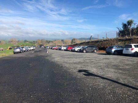 Carpark build starts at Sanctuary Mountain Maungatautari